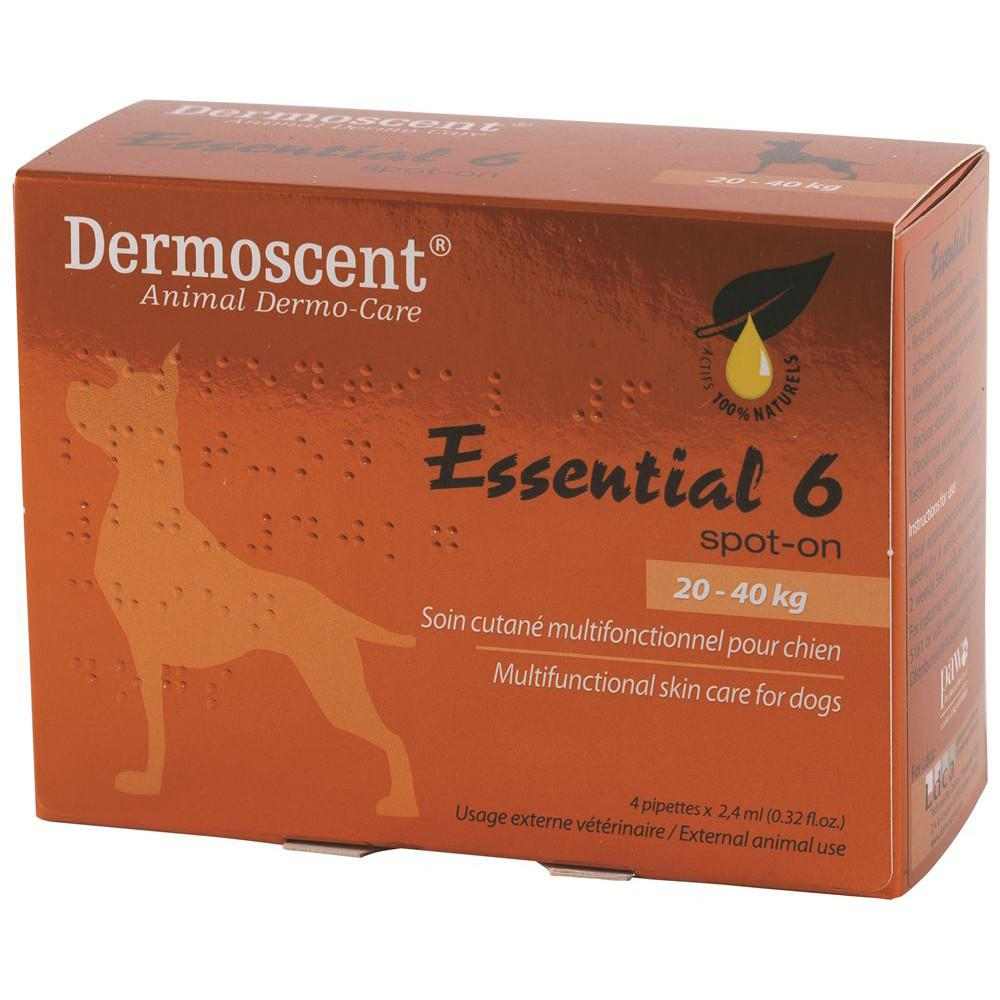 PAW Essential 6 Spot On Care for Dogs Large (20-40kg) 2.4ml x 4
