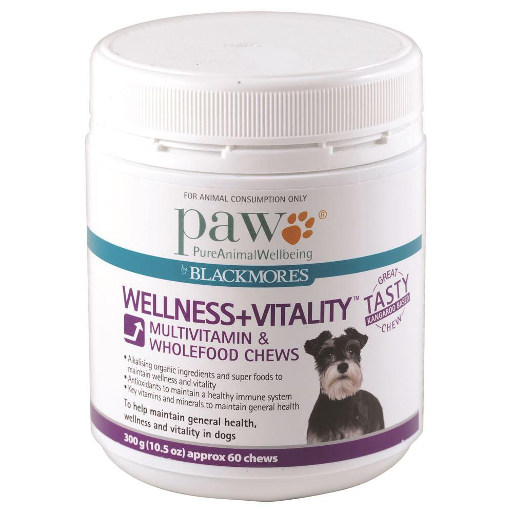 PAW Wellness + Vitality Chews 300g