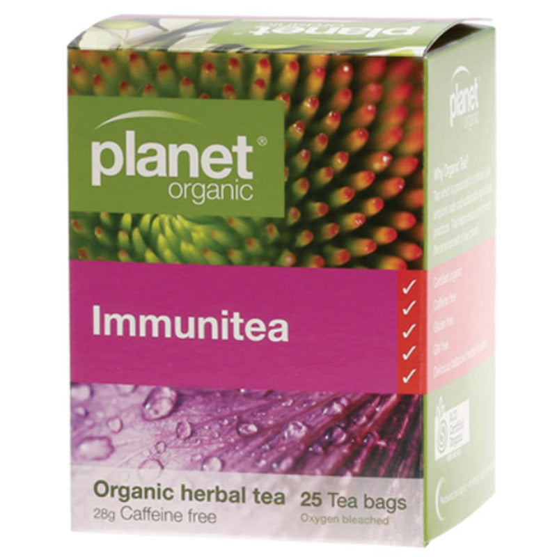 Planet Organic Herbal Tea Bags 25 Immunitea