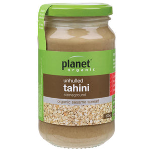 Planet Organic Tahini 375g Unhulled