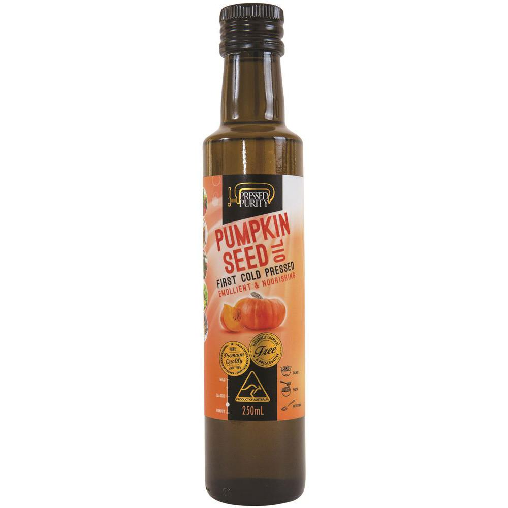 Pressed Purity Pumpkin Oil 250ml