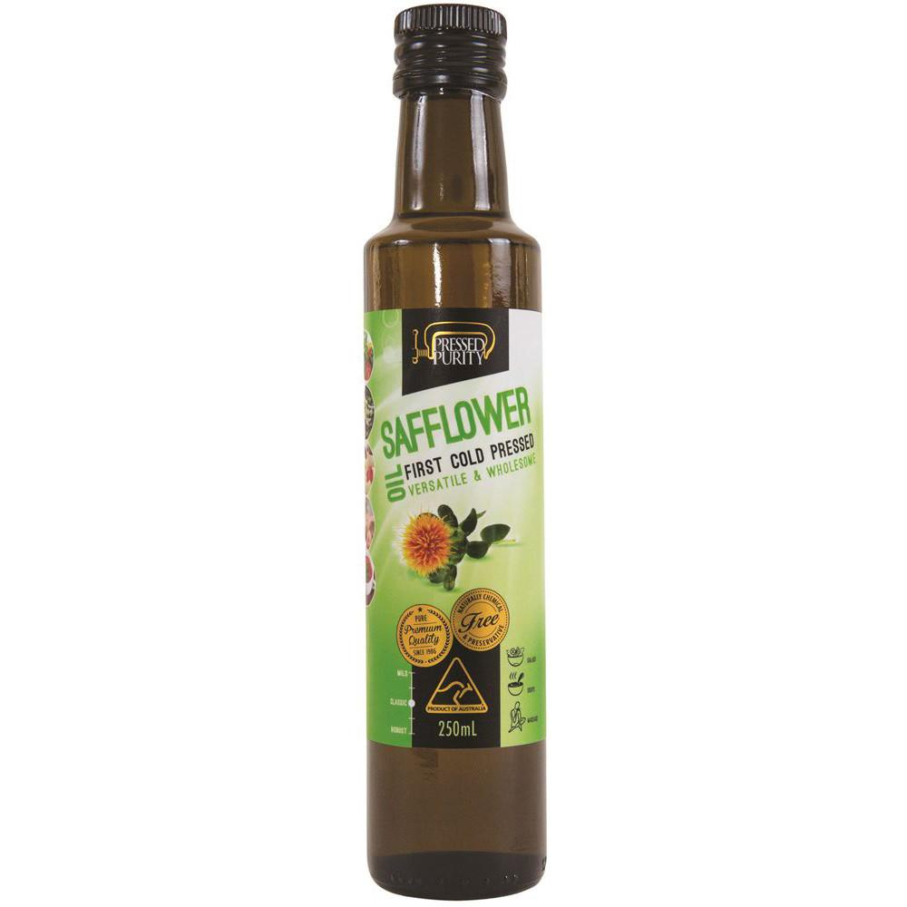 Pressed Purity Safflower Oil 250ml