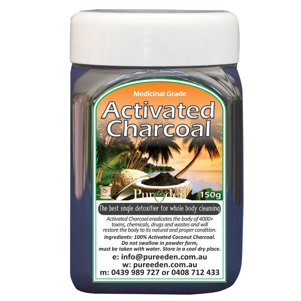 Pure Eden Activated Charcoal 150g