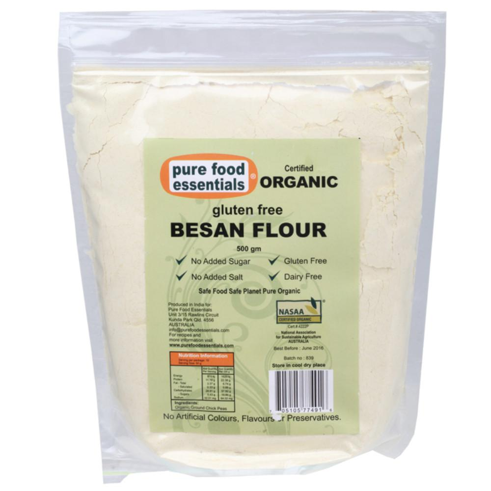 Pure Food Essentials Flour 500g Besan