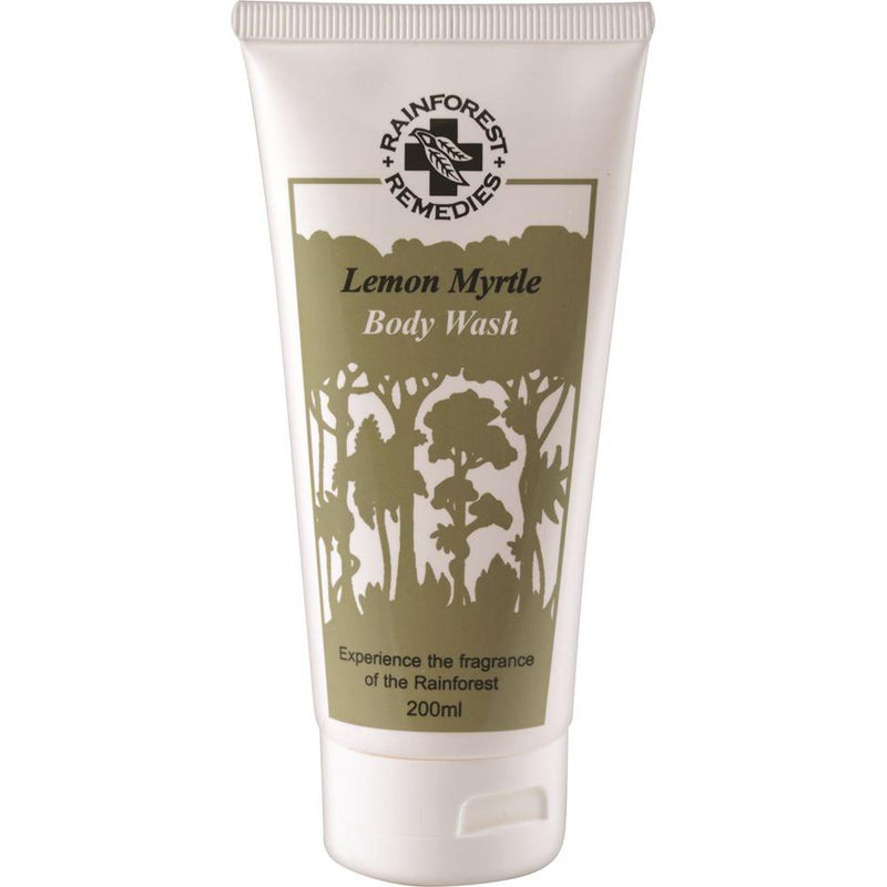 Rainforest Remedies Lemon Myrtle Body Wash 200ml