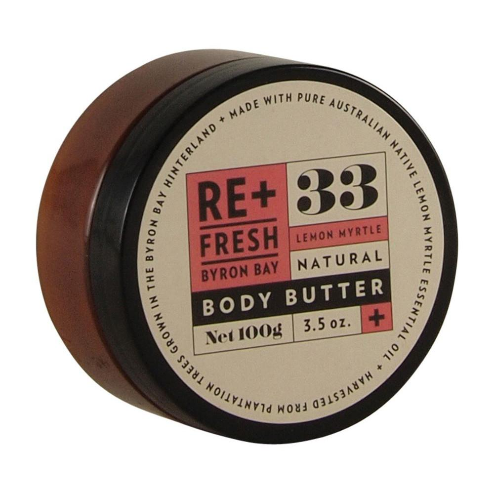 ReFresh Byron Bay Lemon Myrtle Body Butter 100g