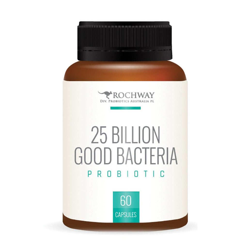 Rochway 25 Billion Good Bacteria 60vc