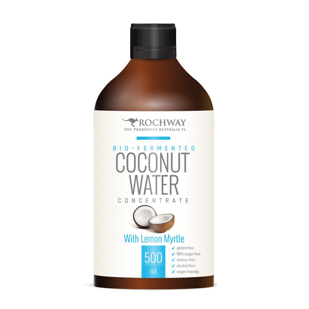 Rochway Organic Coconut Water Lemon Myrtle Probiotic Formula 500ml
