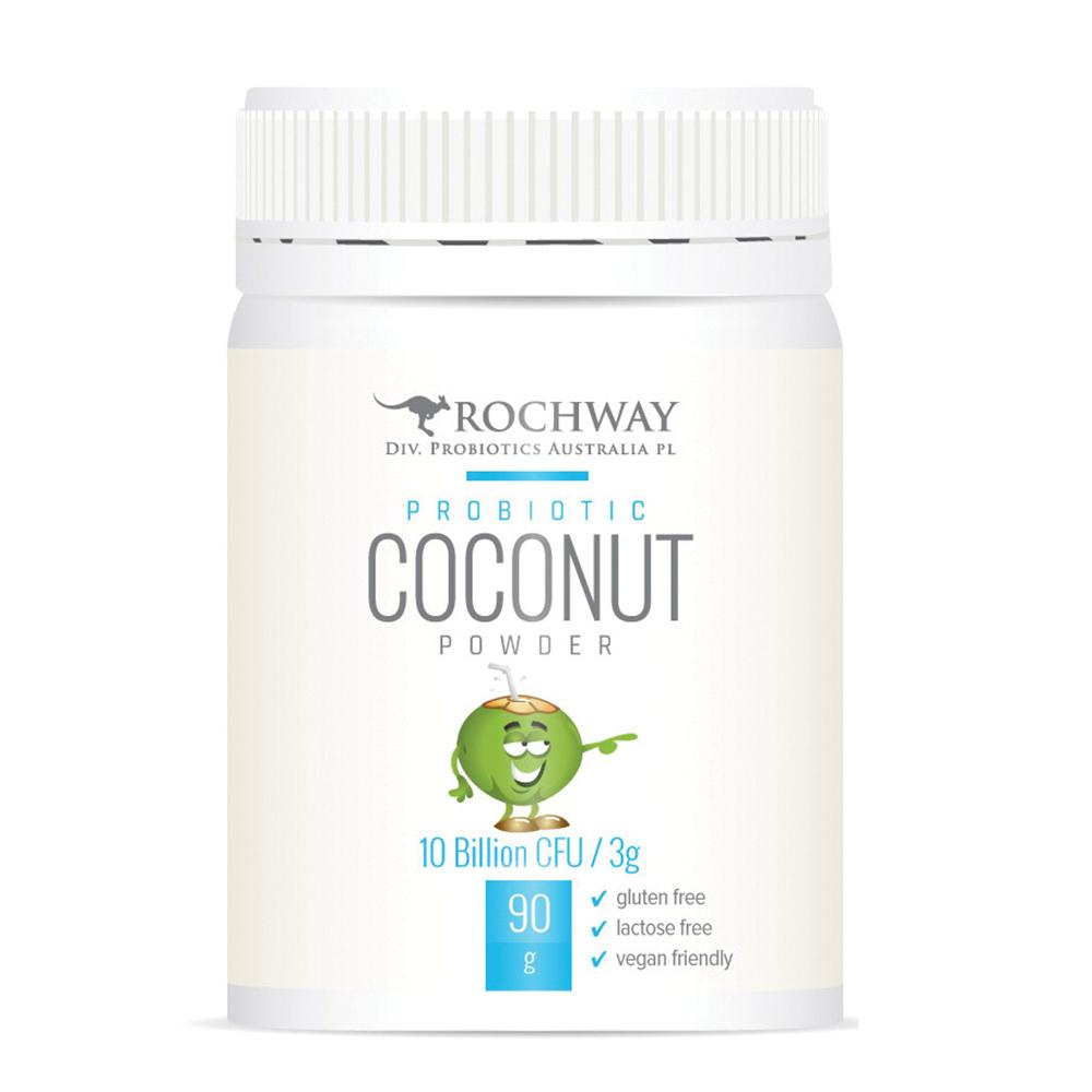 Rochway Probiotic Coconut Powder 10 Bil CFU 3g 90g