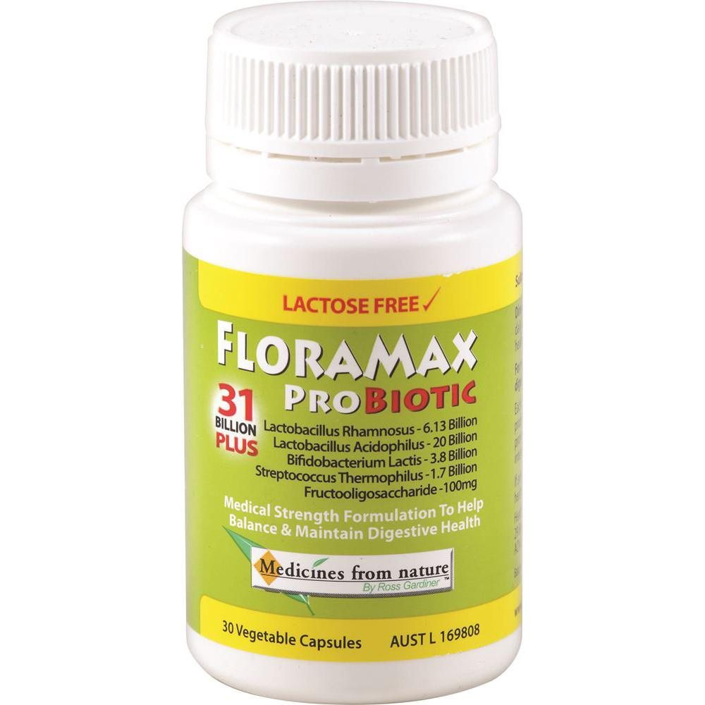 Ross Gardiner FloraMax Probiotic 31 Billion Plus 30vc