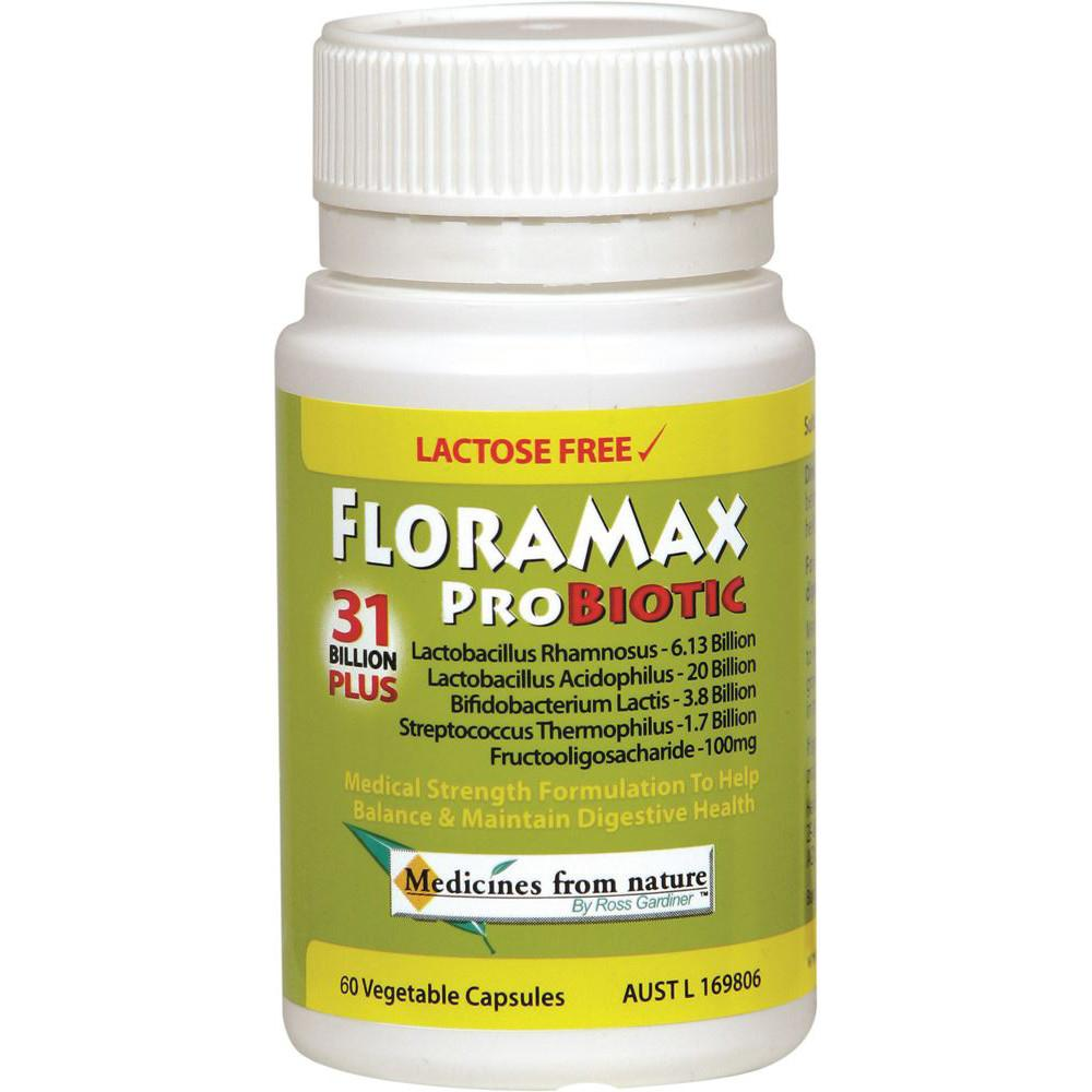 Ross Gardiner FloraMax Probiotic 31 Billion Plus 60vc