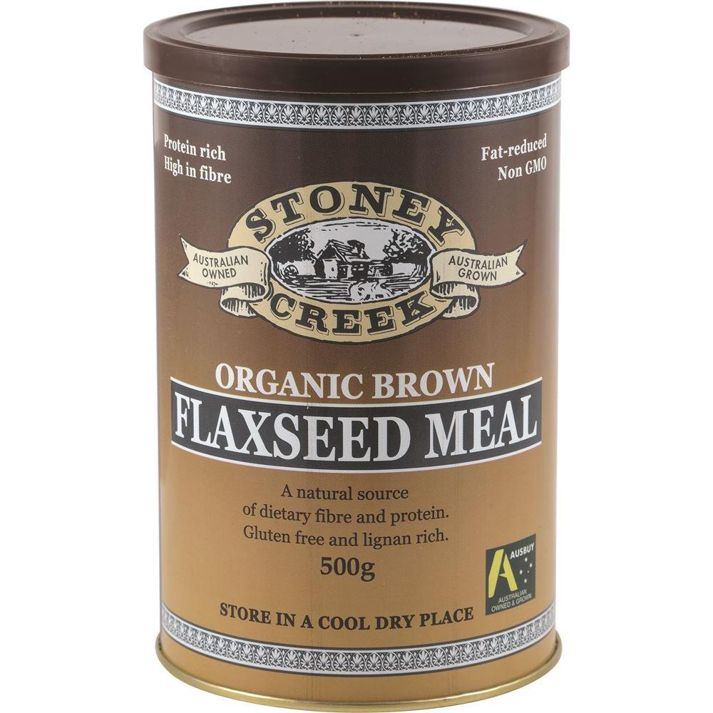 Stoney Creek Organic Brown Flaxseed Meal 500g
