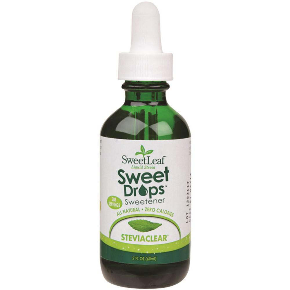 Sweet Leaf Sweet Drops Stevia Clear Liquid 60ml