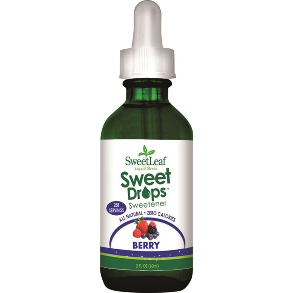 Sweet Leaf Sweet Drops Stevia Liquid Berry 60ml