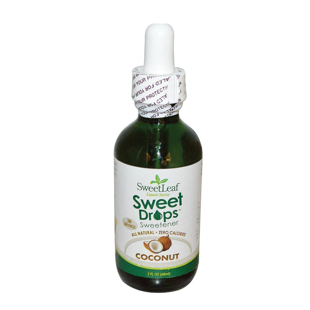 Sweet Leaf Sweet Drops Stevia Liquid Coconut 60ml