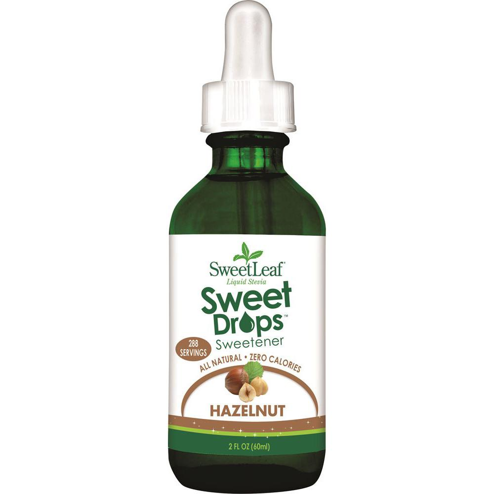 Sweet Leaf Sweet Drops Stevia Liquid Hazelnut 60ml