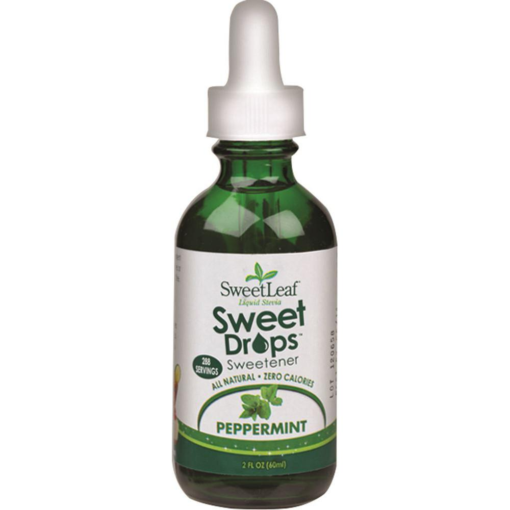 Sweet Leaf Sweet Drops Stevia Liquid Peppermint 60ml