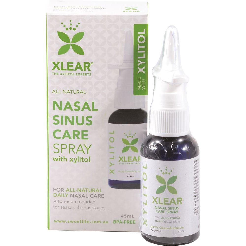 Sweet Life Xlear Nasal Sinus Care with Xylitol Spray 45ml