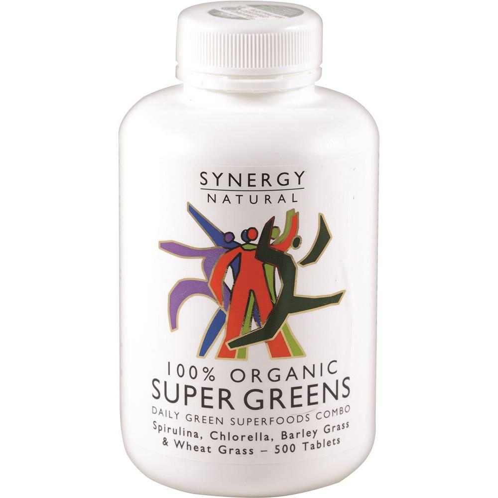 Synergy Natural Organic Super Greens 500t