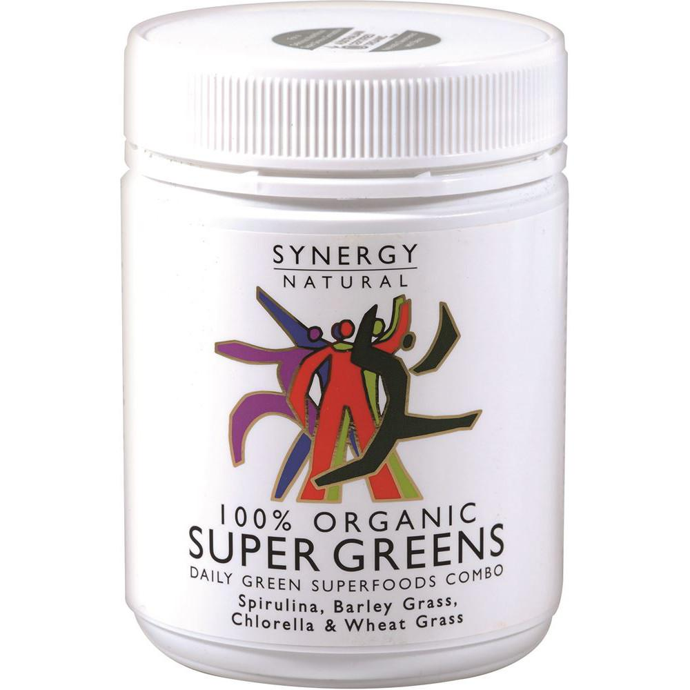 Synergy Natural Organic Super Greens Powder 200g