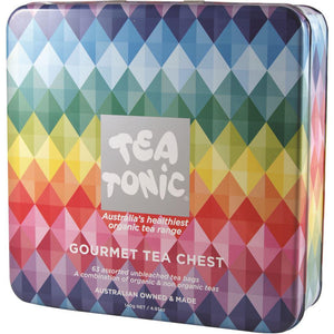 Tea Tonic Gourmet Tea Chest Deluxe x 63 Tea Bags