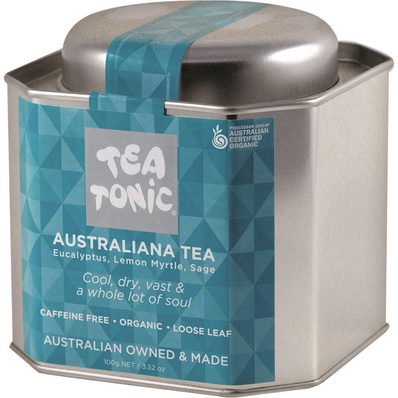 Tea Tonic Organic Australiana Tea Tin 100g