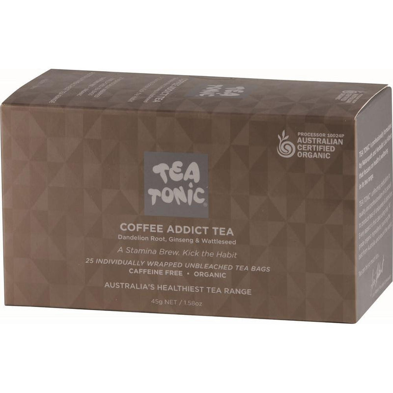 Tea Tonic Organic Coffee Addict Tea x 25 Tea Bags