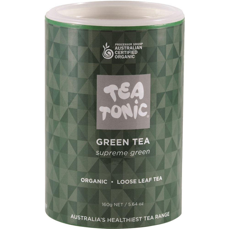 Tea Tonic Organic Green Tea Tube 160g