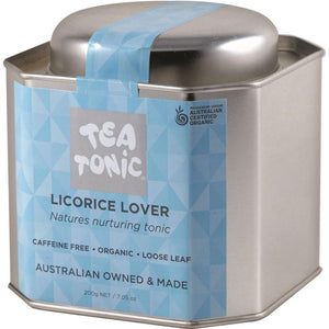 Tea Tonic Organic Licorice Lover Tea Tin 200g