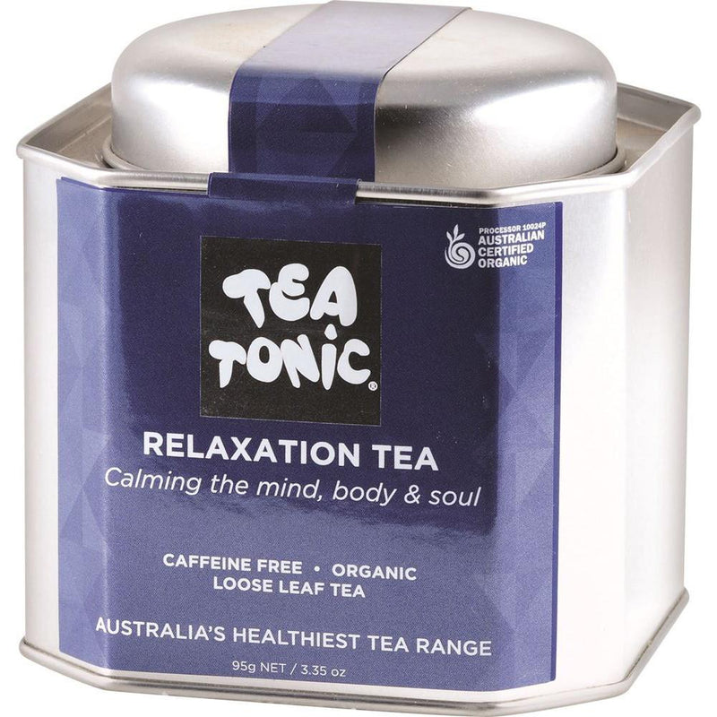 Tea Tonic Organic Relaxation Tea Tin 95g