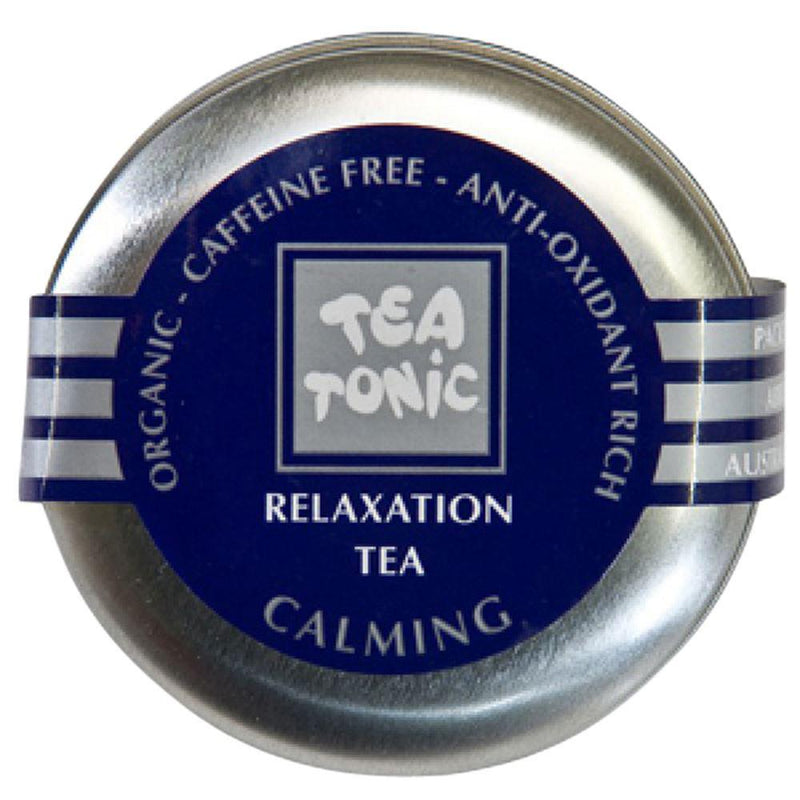 Tea Tonic Organic Relaxation Tea Travel Tin 4g