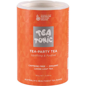 Tea Tonic Organic Tea Party Tea Tube 180g