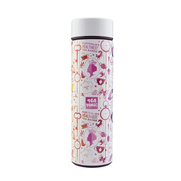 Tea Tonic Thermal Drink Bottle White 450ml