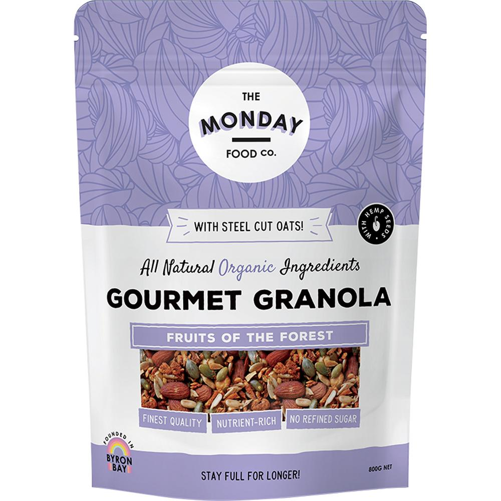 The Monday Food Co. Gourmet Granola Fruits of the Forest 800g