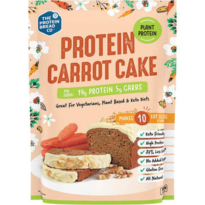 The Protein Bread Co. Protein Carrot Cake Plant Protein 320g