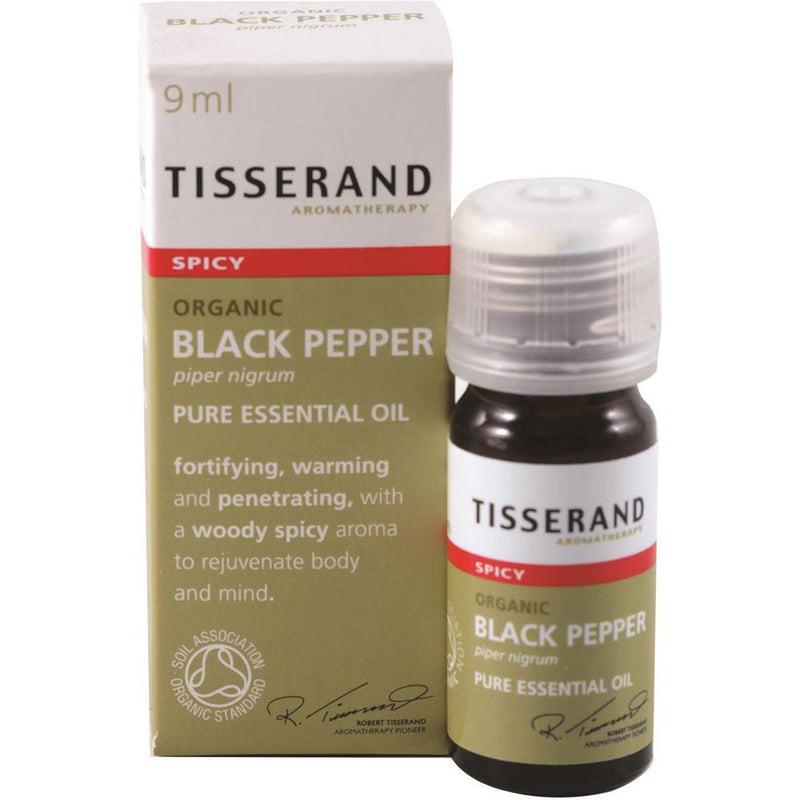 Tisserand Organic Black Pepper 9ml