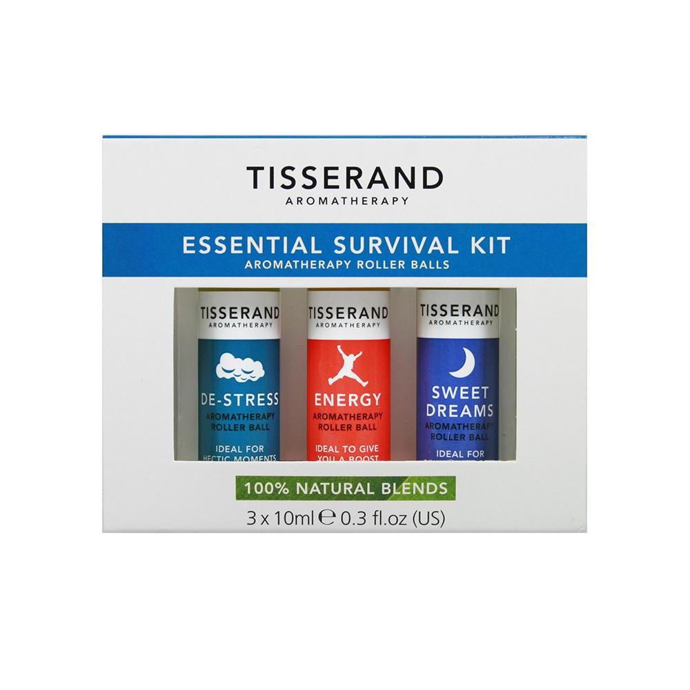 Tisserand Roller Ball Urban Survival Kit 10ml x 3 Pack