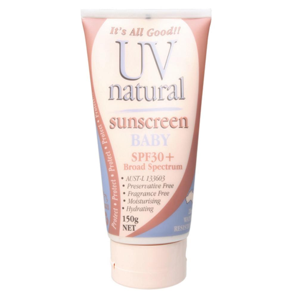 Uv Natural Baby Sunscreen 150g SPF 30+