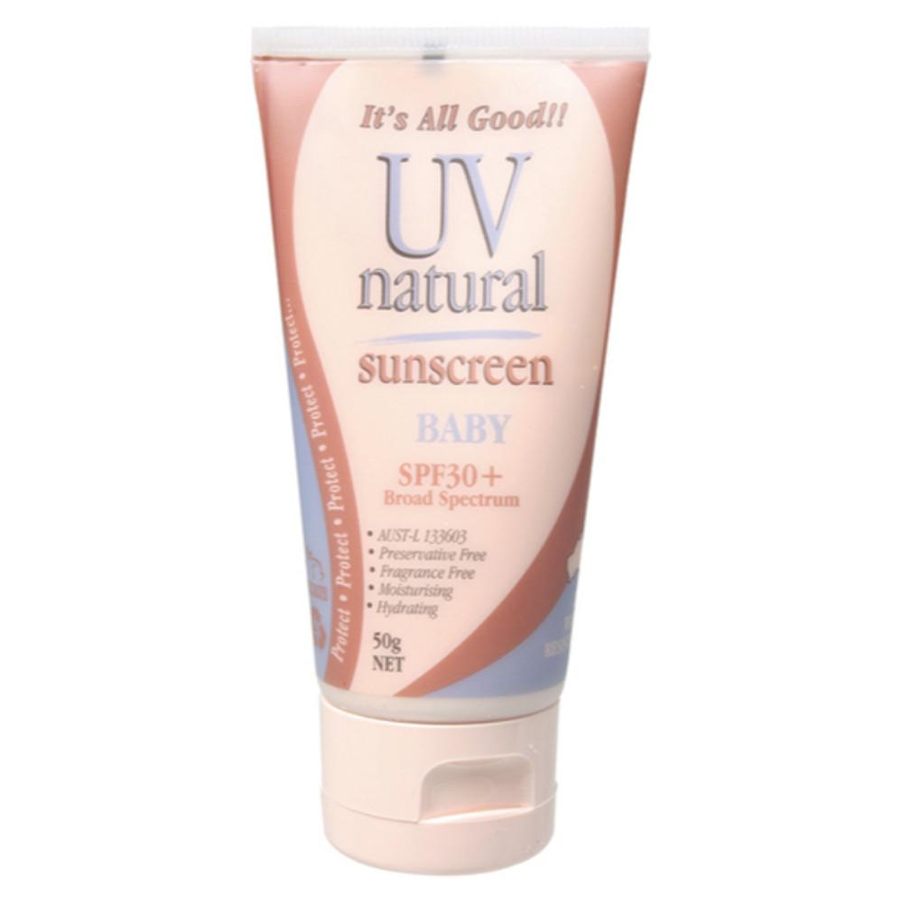 Uv Natural Baby Sunscreen 50g SPF 30+