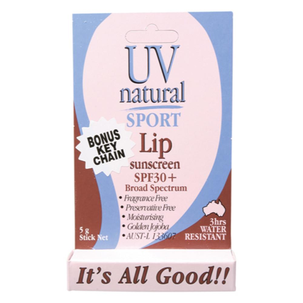 Uv Natural Lip Sunscreen 5g Sport SPF 30+