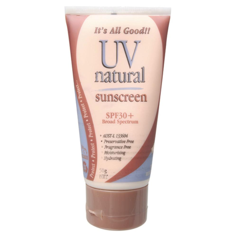 Uv Natural Sunscreen 50g Natural SPF 30+