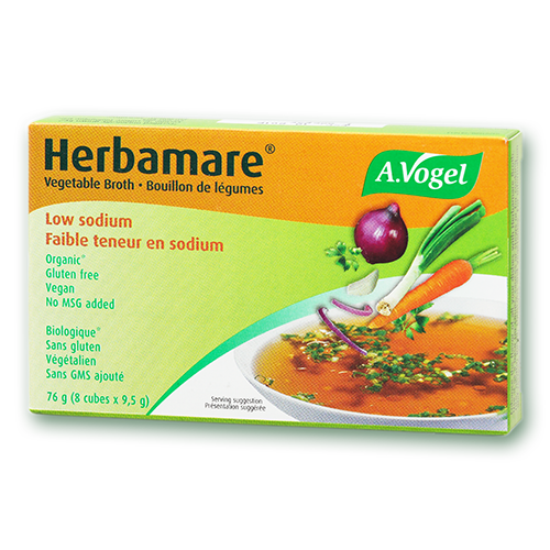 Vogel Herbamare Bouillon Low Sodium Vegetable Stock Cube (9.5g x 8)