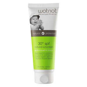 Wotnot 30+ SPF Natural Sunscreen 100g