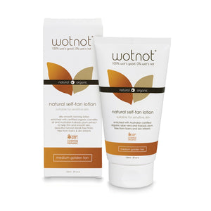 Wotnot Natural Self Tan Lotion 150ml