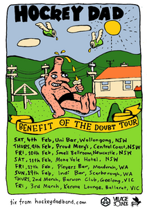 Hockey Dad announce regional Australian tour