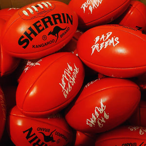Bad//Dreems Mini Sherrin AFL Football