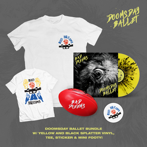 Doomsday Ballet - Limited Edition Splatter Vinyl Bundle