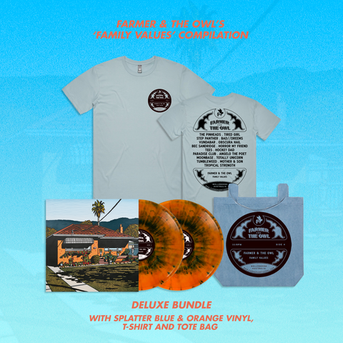 Family Values Compilation - Splatter Vinyl - Deluxe Bundle