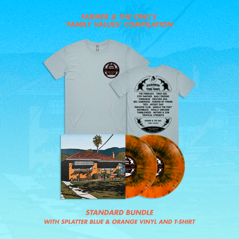 Family Values Compilation - Splatter Vinyl - Standard Bundle (PRE ORDER)