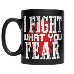 Limited Edition Firefighters - I fight what you fear Utah Brotherhood